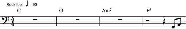Bas-spilleanvisning med pauser