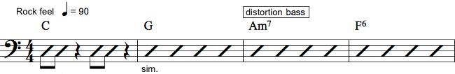 Notation af effekter