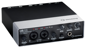 Lydkort (Steinberg UR22 2-Channel USB 2.0 Audio/MIDI Interface)