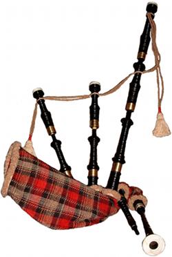 Sækkepibe (Highland Bagpipe)