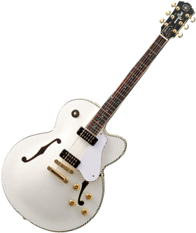 Hollowbody guitar (Yamaha AES1500)