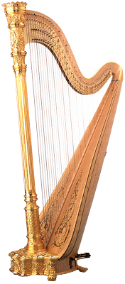 Harpe (Lyon & Healy Style 17 Semi-Grand Gold)