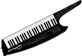 Keytar (Roland AX-Synth, 2010)
