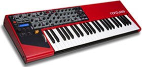 Synthesizer (Clavia Nord Wave, 2007)