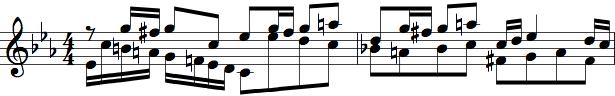 4/4-delt takt