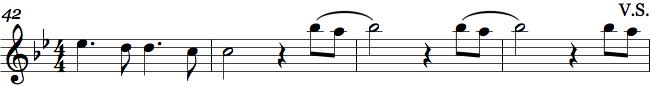 Volti Subito i orkesterpartitur