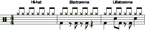 ERT trommerytme 3
