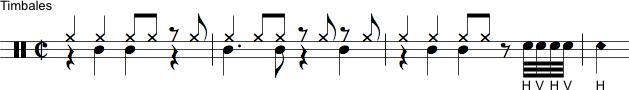 Timbales rytme