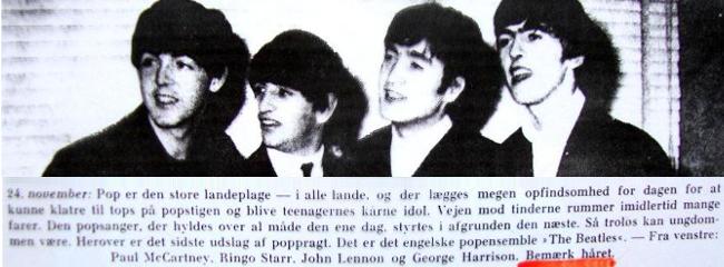 Året fortalt i billeder, november 1963.