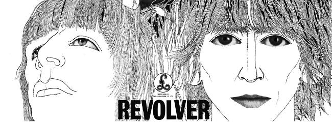 Albumcover. Revolver, 1966.