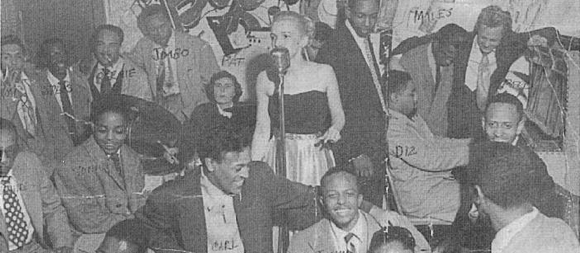 Jamsession på Bob City, 1951.