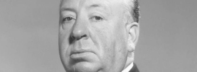 Alfred Hitchcock, ca. 1955.