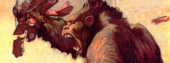 Filmplakat. King Kong, 1933.