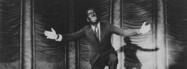 The Jazz Singer, 1927. Eksempel på blackface-sminken.