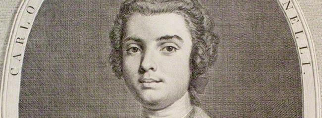 Portræt af kastratsangeren Farinelli, 1735.