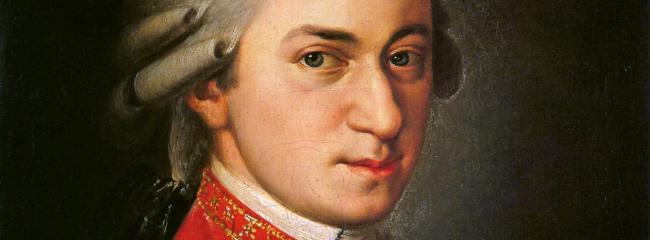 Mozart. Maleri af Barbara Krafft, 1819 (efter Mozarts død).
