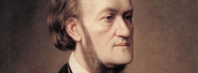 Richard Wagner. Maleri af Caesar Willich, ca. 1862.