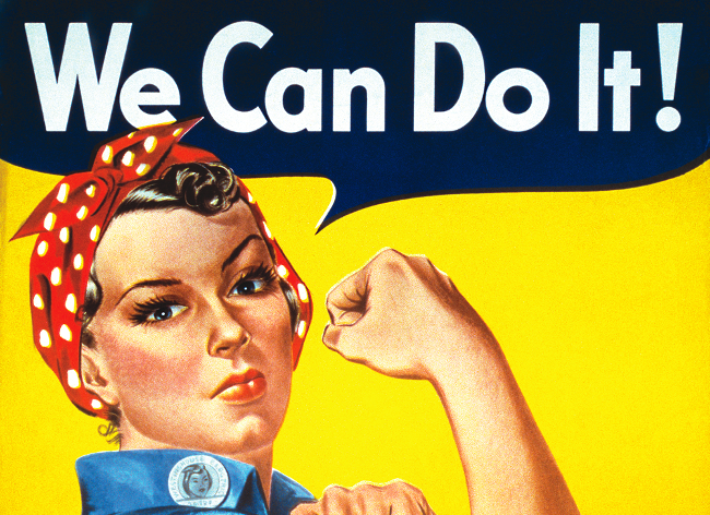 We Can Do It! Plakat fra 1943.